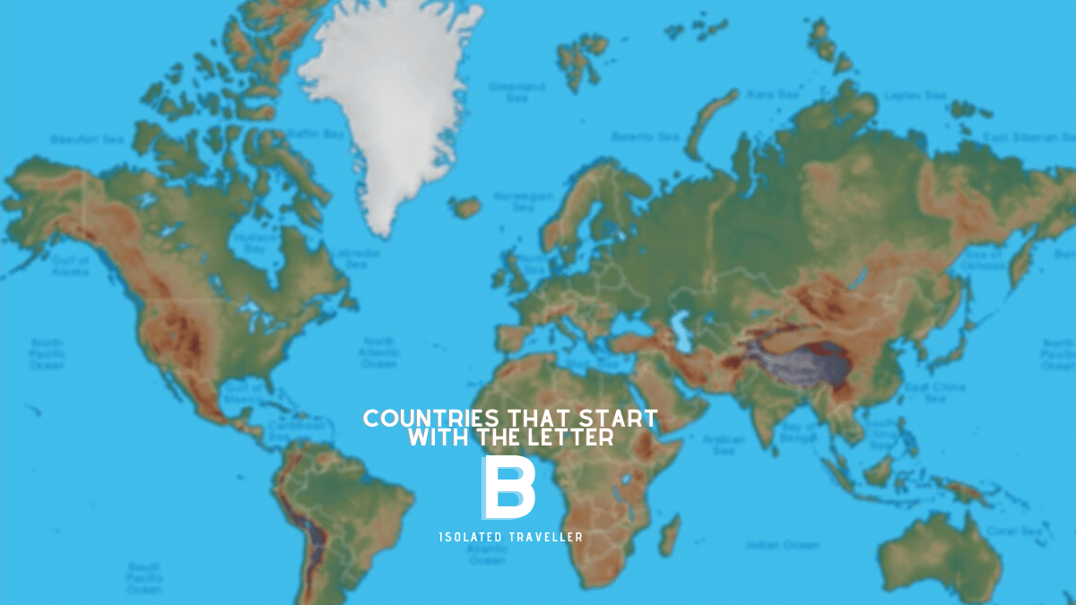 Countries That Start With The Letter B