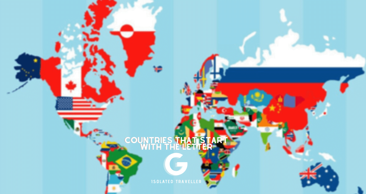 Countries That Start With The Letter G