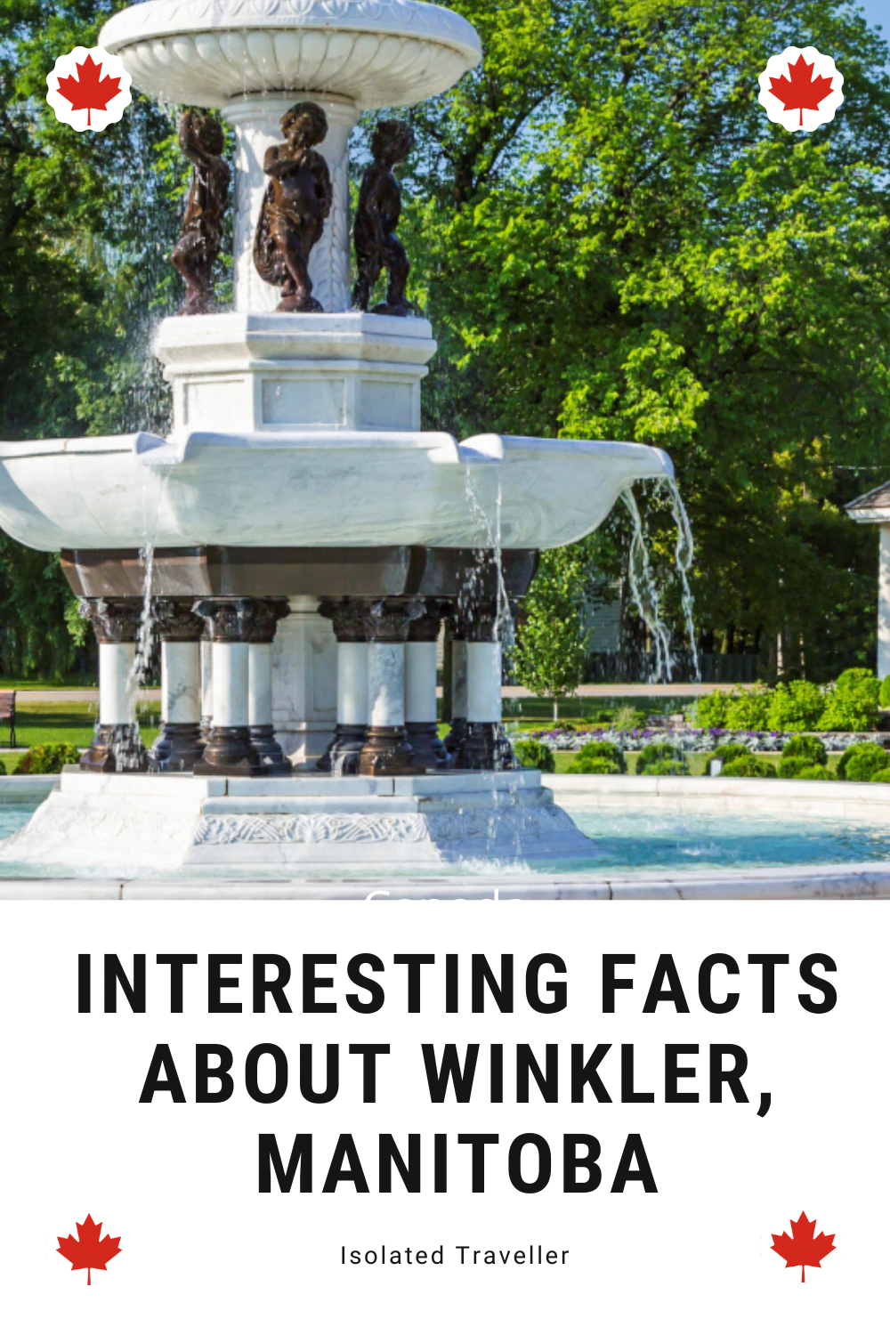 Facts About Winkler Manitoba