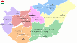 List of Regions of Hungary