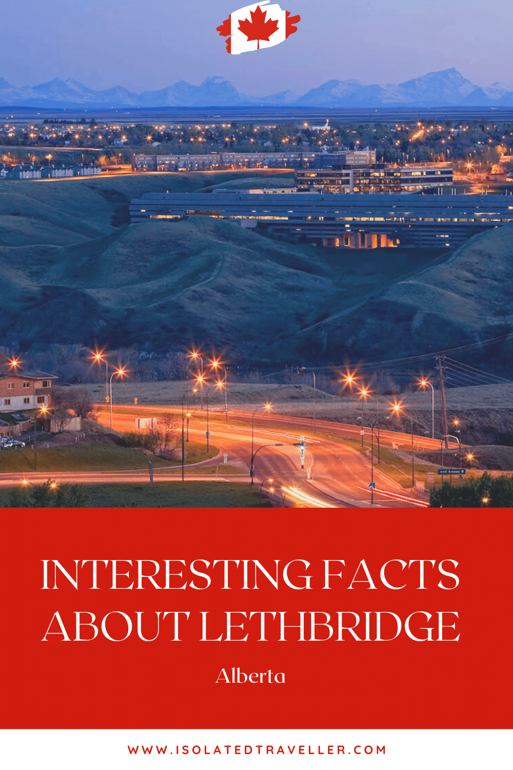 Facts About Lethbridge