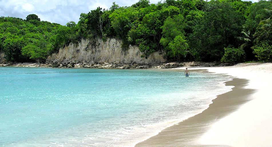 spiaggia di marie galante