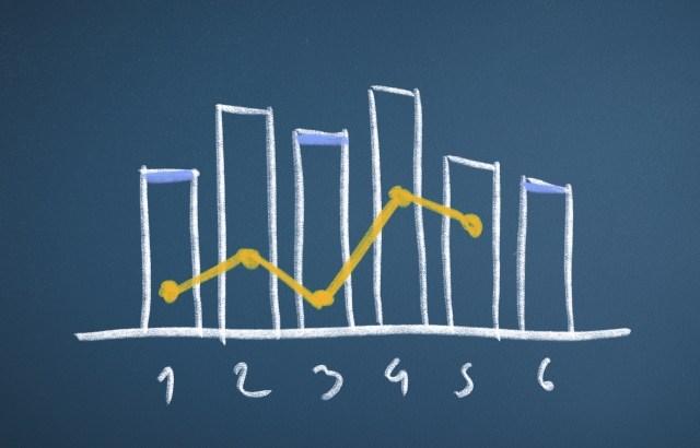 会計ソフトの数字をexcelのグラフにして眺めてみましょう