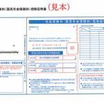 国民年金の社会保険料控除