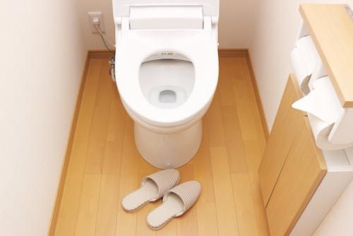 洋式トイレに入るのも躊躇する