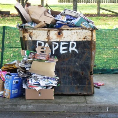 Nobody does it better: three sectors' roles in waste minimisation