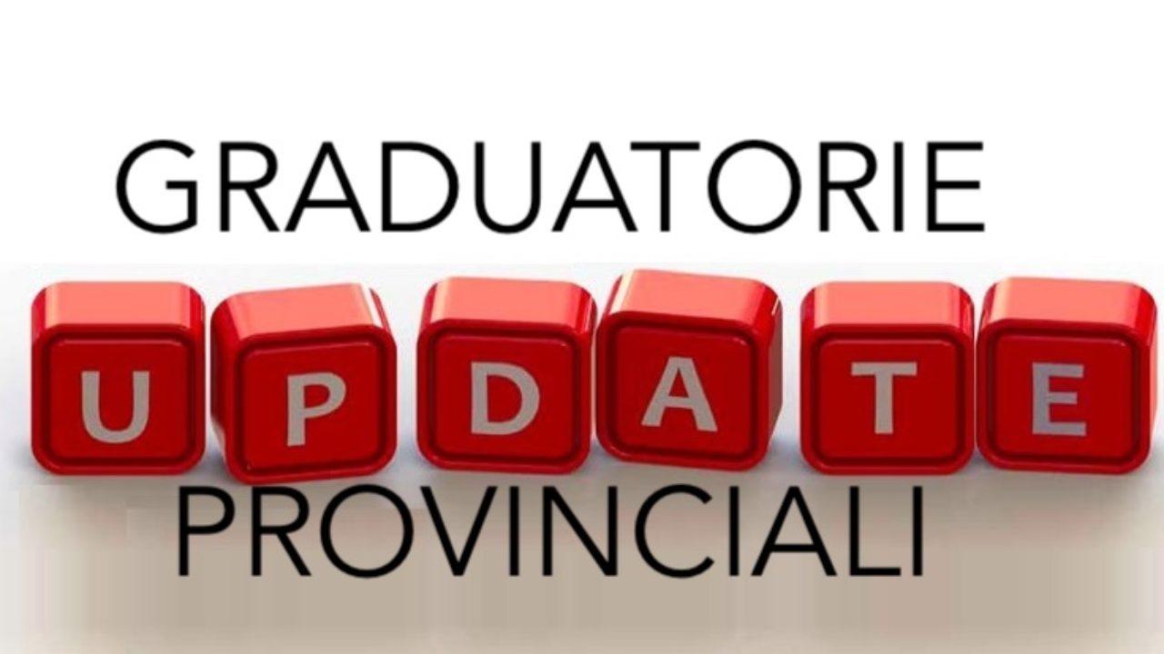 Al via le nuove graduatorie provinciali per le supplenze