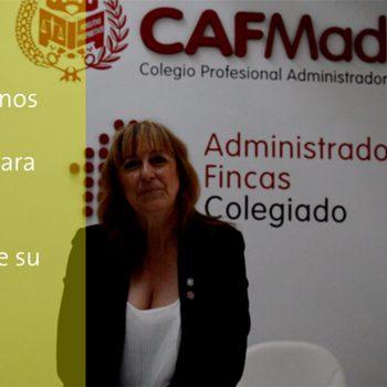 Manuela Martín Torres y los administradores de fincas