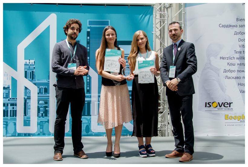 Premio de los Estudiantes Concurso Multi-Confort House Saint-Gobain 2017