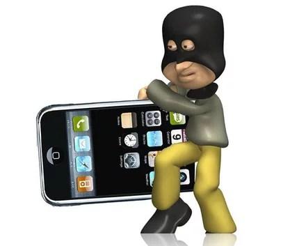 ladro iphone - ispazio