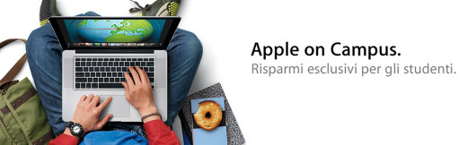 apple on campus