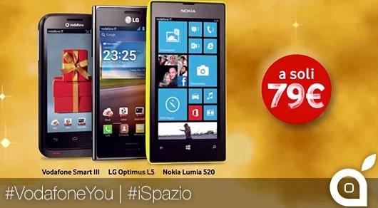 Sfondi Natalizi Nokia Lumia 520.Vodafone Offre Nokia Lumia 520 Lg Optimus L5 E Vodafone