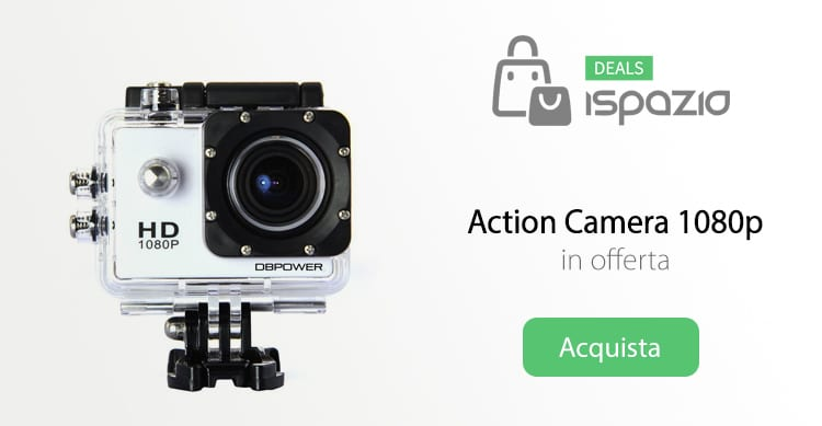 action camera deals ispazio