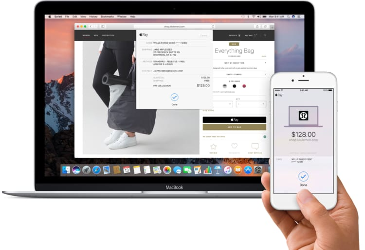 Apple Pay Mac