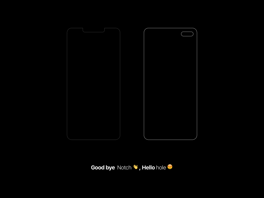iPhone XI concept hole