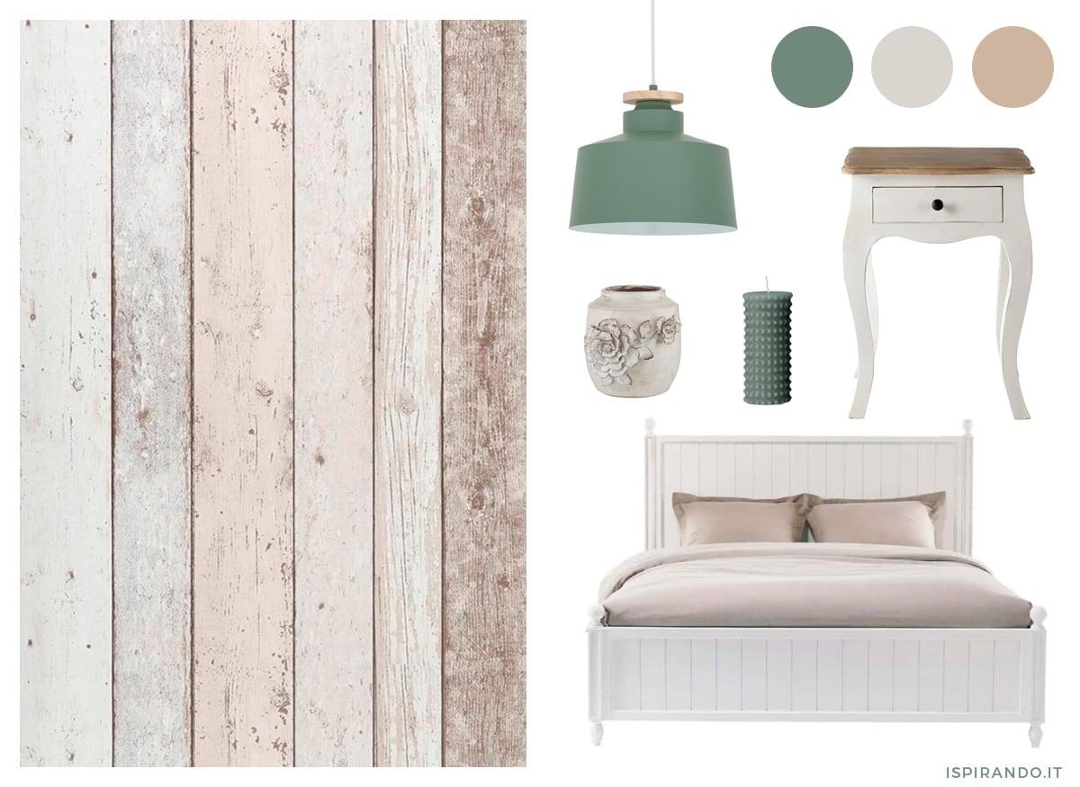 Carta da parati moderna per decorazione murale della camera da letto: Carta Da Parati Per Camera Da Letto Idee E Ispirazioni Ispirando