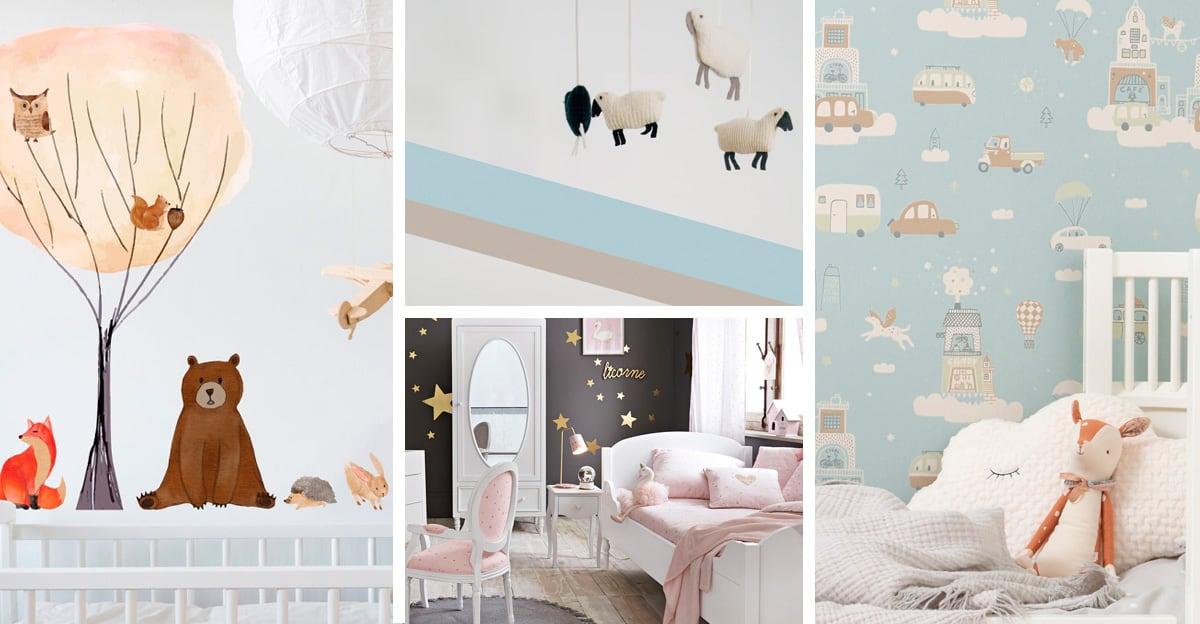 Per i mobili basta scegliere colori neutri, ma come decorare le pareti? Decorazioni Camerette 4 Idee Per Personalizzare Le Pareti Ispirando