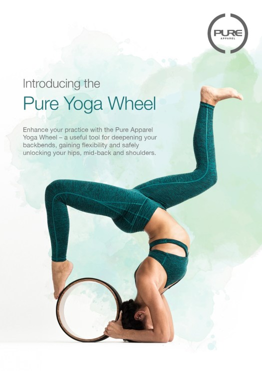 pure yoga wheel