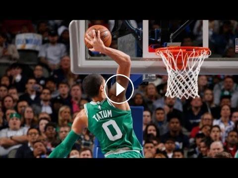 Best Plays From Monday Night's NBA Action! | Jayson Tatum ...