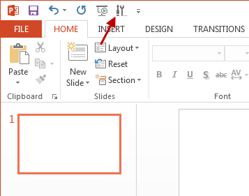 Insert Flash into PowerPoint 2013