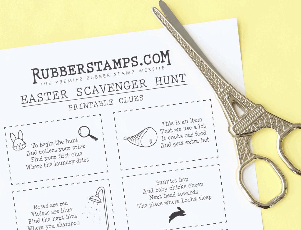 10 Best Easter Basket Scavenger Hunts With Free Printables