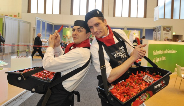 The Angello seedless pepper was a sensation at Fruit Logistica in Switzerland.
