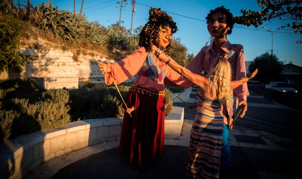 Puppet Festival in Jerusalem. Photo by FLASH90