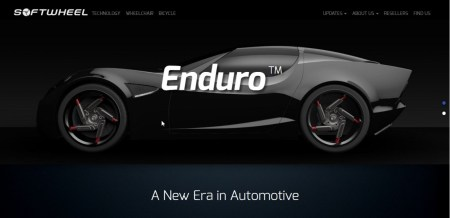 SoftWheel's Enduro could change the tire industry dramatically. Photo: screenshot