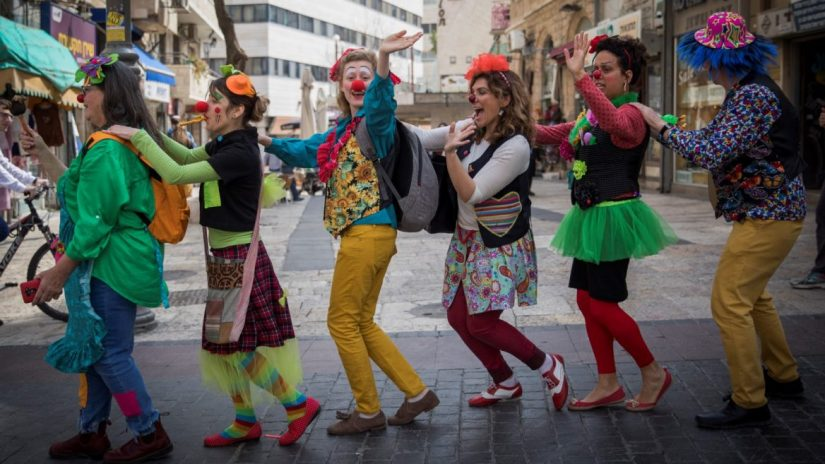 Image result for mardi gras in israel