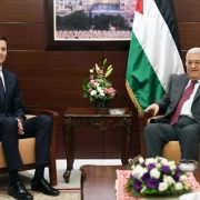 Jared Kushner and Abbas