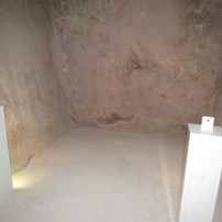 Plastered Walls in Tel Sheva Cistern and Tunnel
