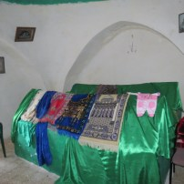 Grave of Husam Abu al Hija and wife(?) or assistant (?)