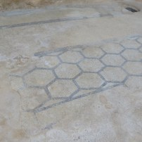 Hexogonal designed flooring