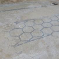 Hexogonal designed flooring