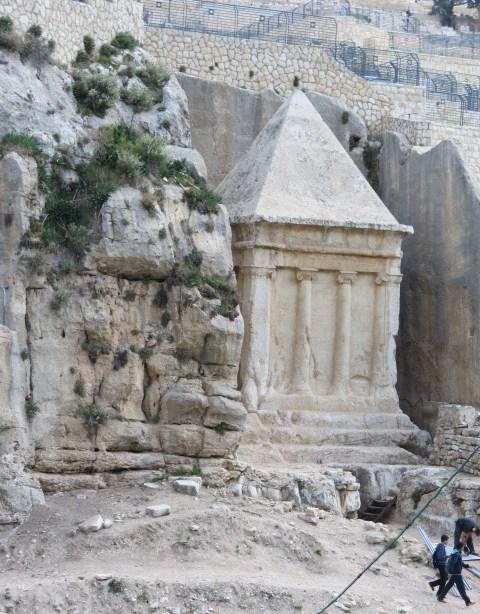 Tomb of Zechariah - monument