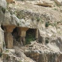 Tomb of Zechariah - burial cave