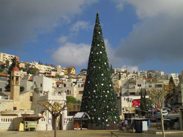 christmas-in-israel- Nazereth