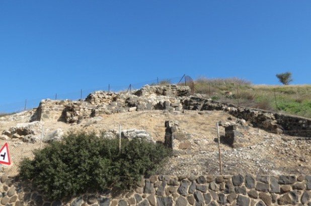 Original site of the Church of the Beatitudes