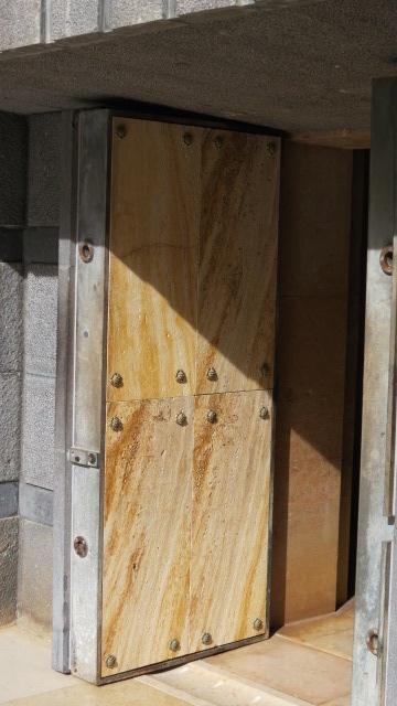 Baron Rothschild's Grave - Massive Doors