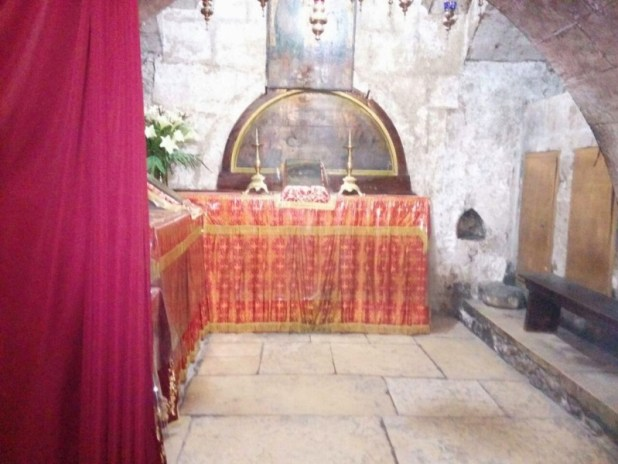 The tomb of Queen Melisende of Jerusalem at Tomb of the Virgin Mary - Avi Nahmias