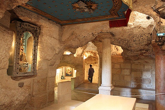 The Milk Grotto - http://www.myholylandtours.com/special-pilgrimage-offer/