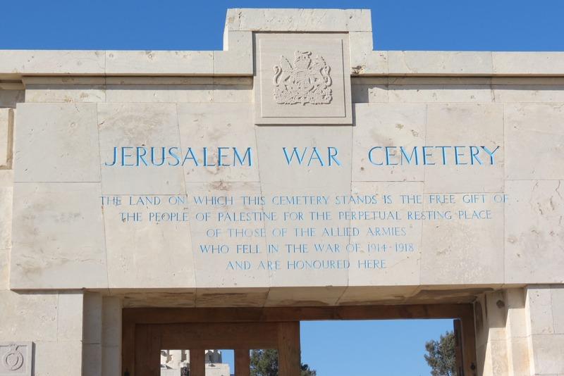 British War Cemetery Jerusalem - English
