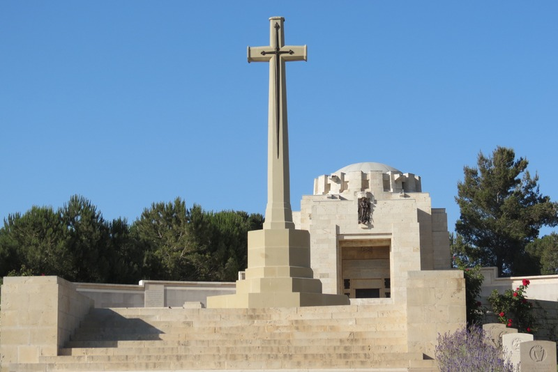 British War Cemetery Jerusalem Casualty Cross