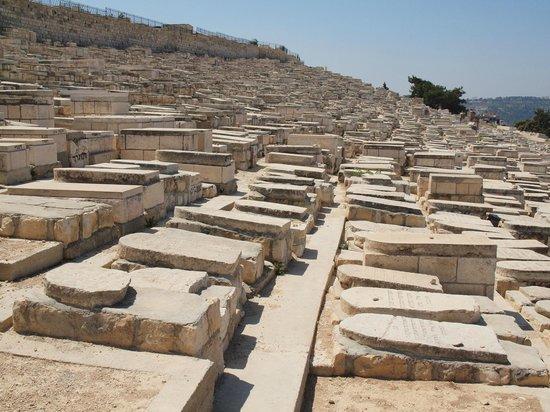 Le cimetière du mont des Oliviers