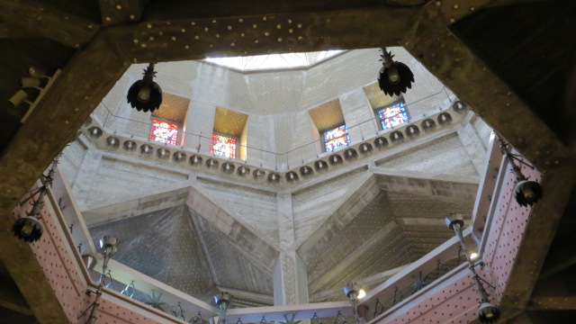Inside the Church of the Annunciation