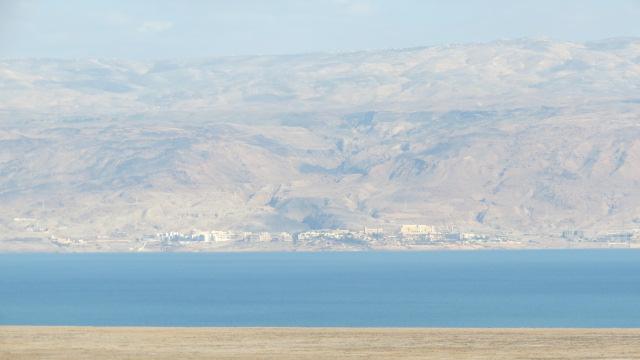 Qumran view on Dead Sea