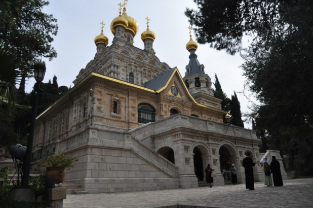Russian Orthodox Church of Saint Mary Magdalene - https://israel-tourguide.info/tag/russian/