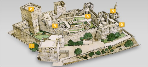 Tower of David - http://www.tod.org.il/en/citadel/citadel-map/