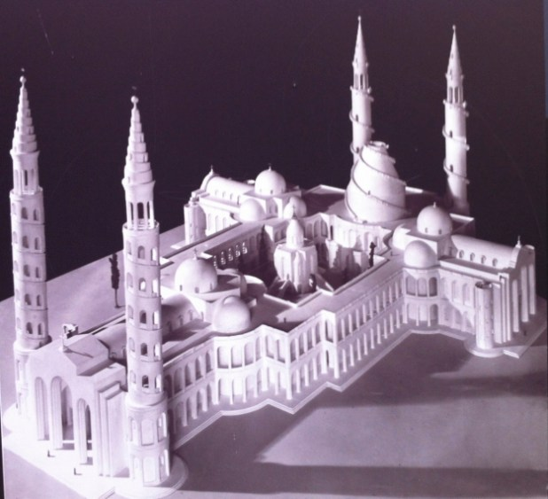 Model-church-of-holy-sepulcher-Barluzzi - https://israel-tourguide.info/tag/antonio-barluzzi/