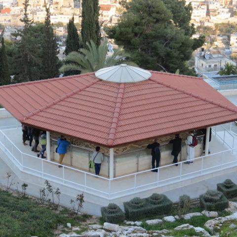 Church of Saint Peter in Gallicantu - Model of ancient Jerusalem